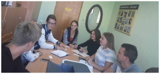 Заседание актива учащихся колледжа