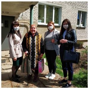 Посещение Лопушанской В.И.