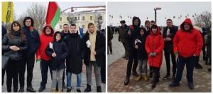 Митинг, посвященный Дню защитников Отечества и Вооруженных Сил Республики Беларусь