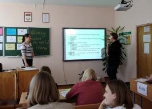 Открытое учебное занятие по учебной дисциплине  «Иностранный язык делового общения»
